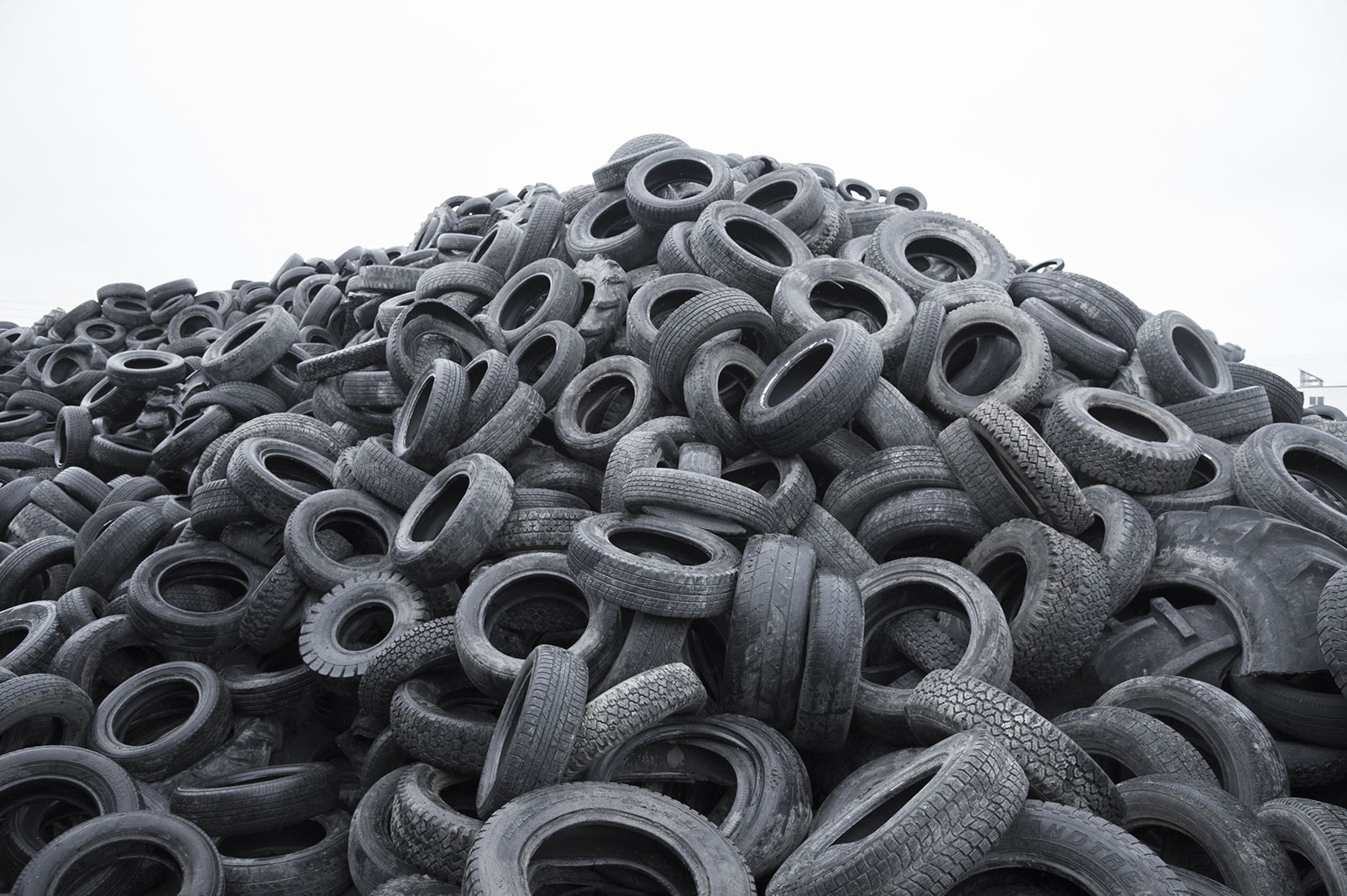 Waste tires is a large global environmetal problem. How can they be recycled?