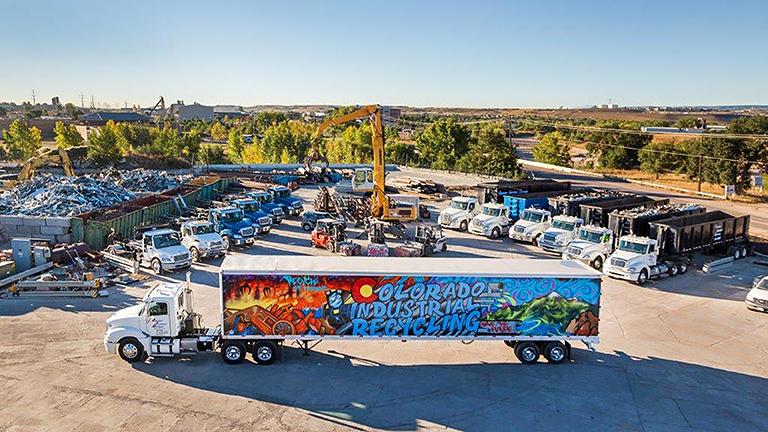 Colorado Industrial Recycling Site