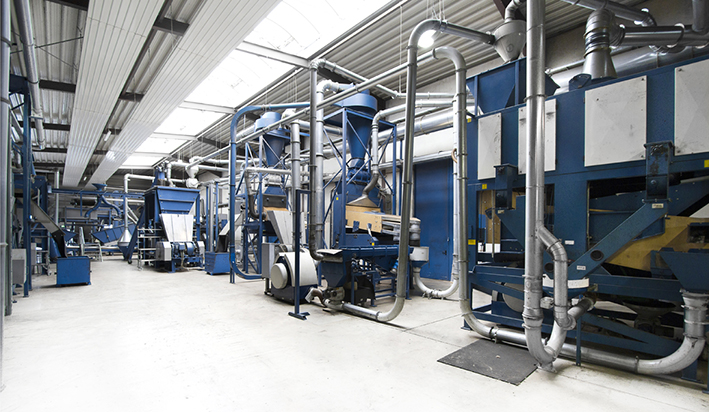 PVP Triptis. Eldan Recycling.