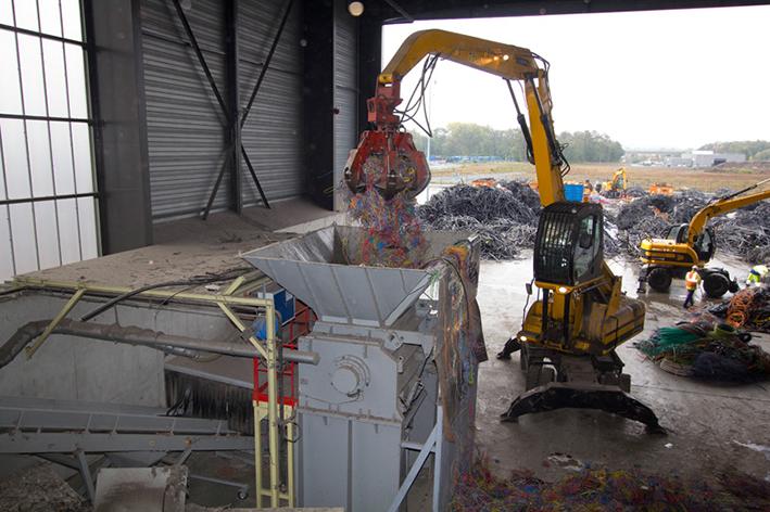 Recycables. Super Chopper. Eldan Recycling.