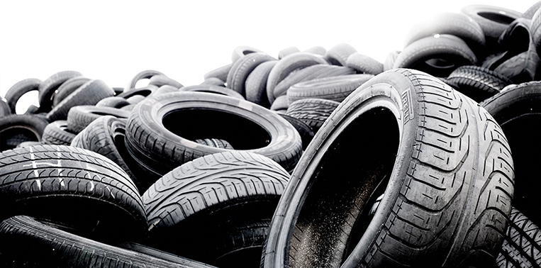 Recycling of tyres